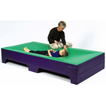 Vibroacoustic Water Bed including Speaker Box
