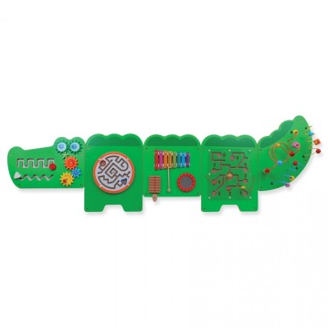 Crocodile Wall Game